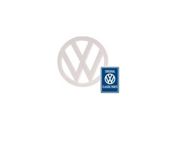 MM305041 - Emblema bianco VW, T2, Original