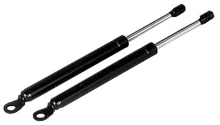 MM303937 - Gas springs for bonnet. Sold in pairs,black/chrom