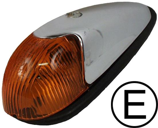 MM303181 - Turn signal light, fender mounted, amber, with ru