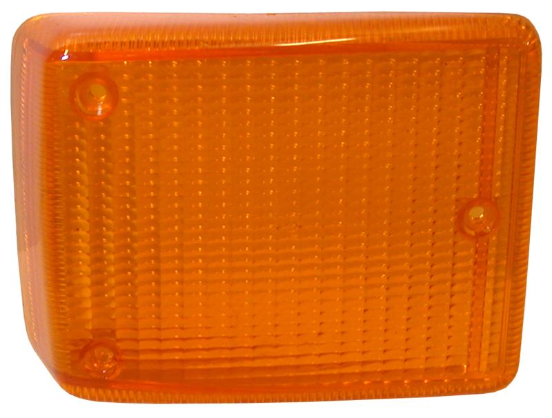 MM303175 - Turn signal light lens, front, yellow, right