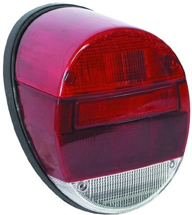 MM304256 - Rear lamp, red glass, without E-mark