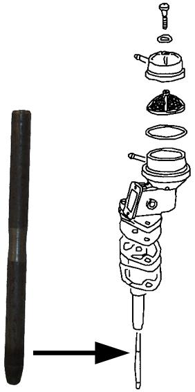 MM303635 - Push rod for fuel pump, 108 mm